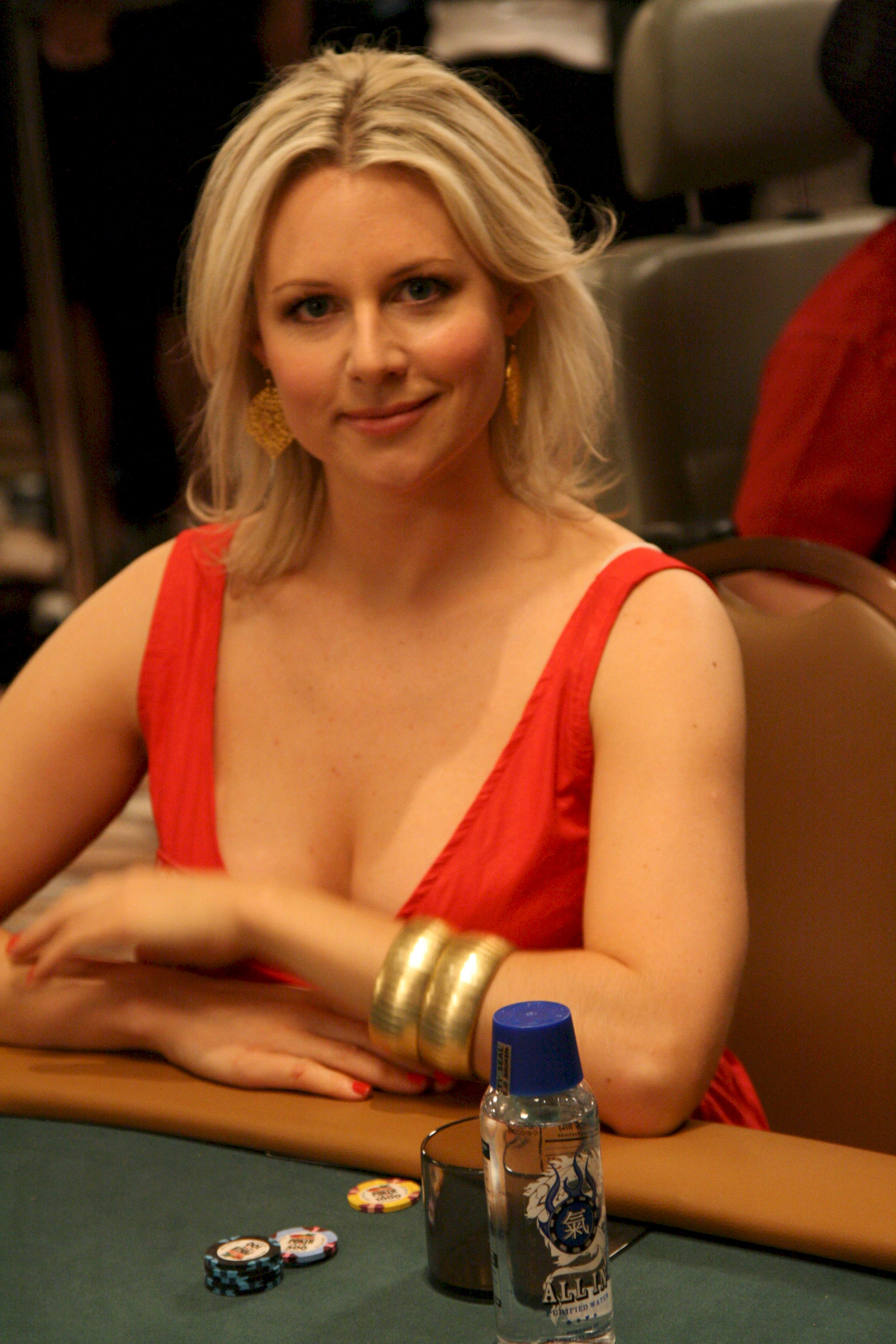 Photo of Abi Titmuss: English actress, television personality, poker player, and former glamour model