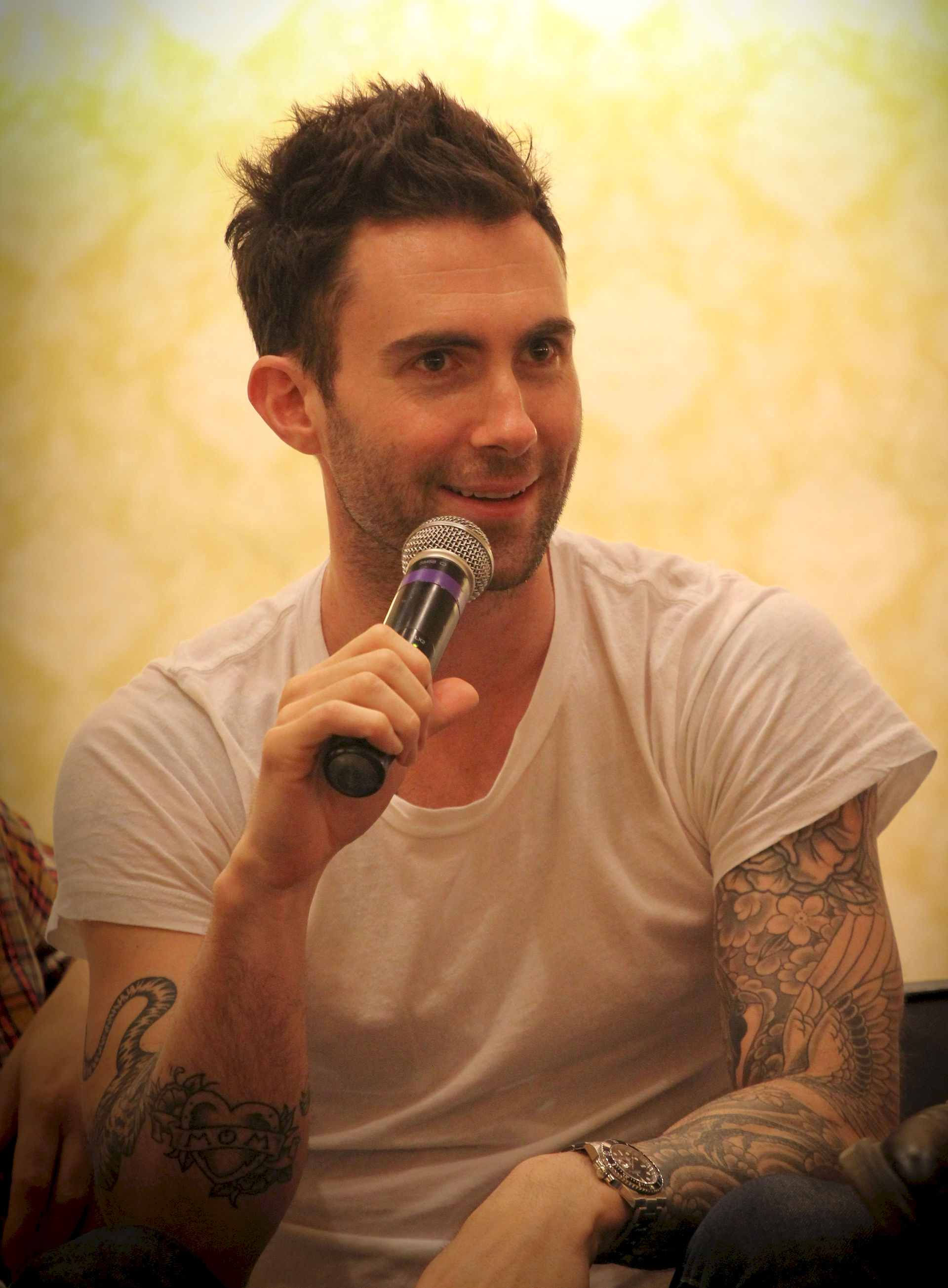 Photo of Adam Levine: American singer-songwriter, actor