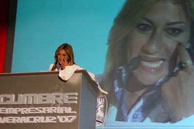 Photo of Adela Micha: Mexican journalist