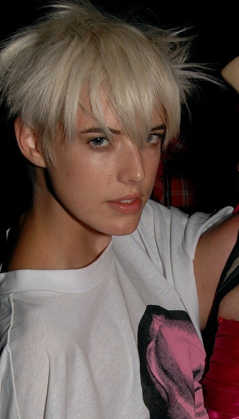Photo of Agyness Deyn: English model