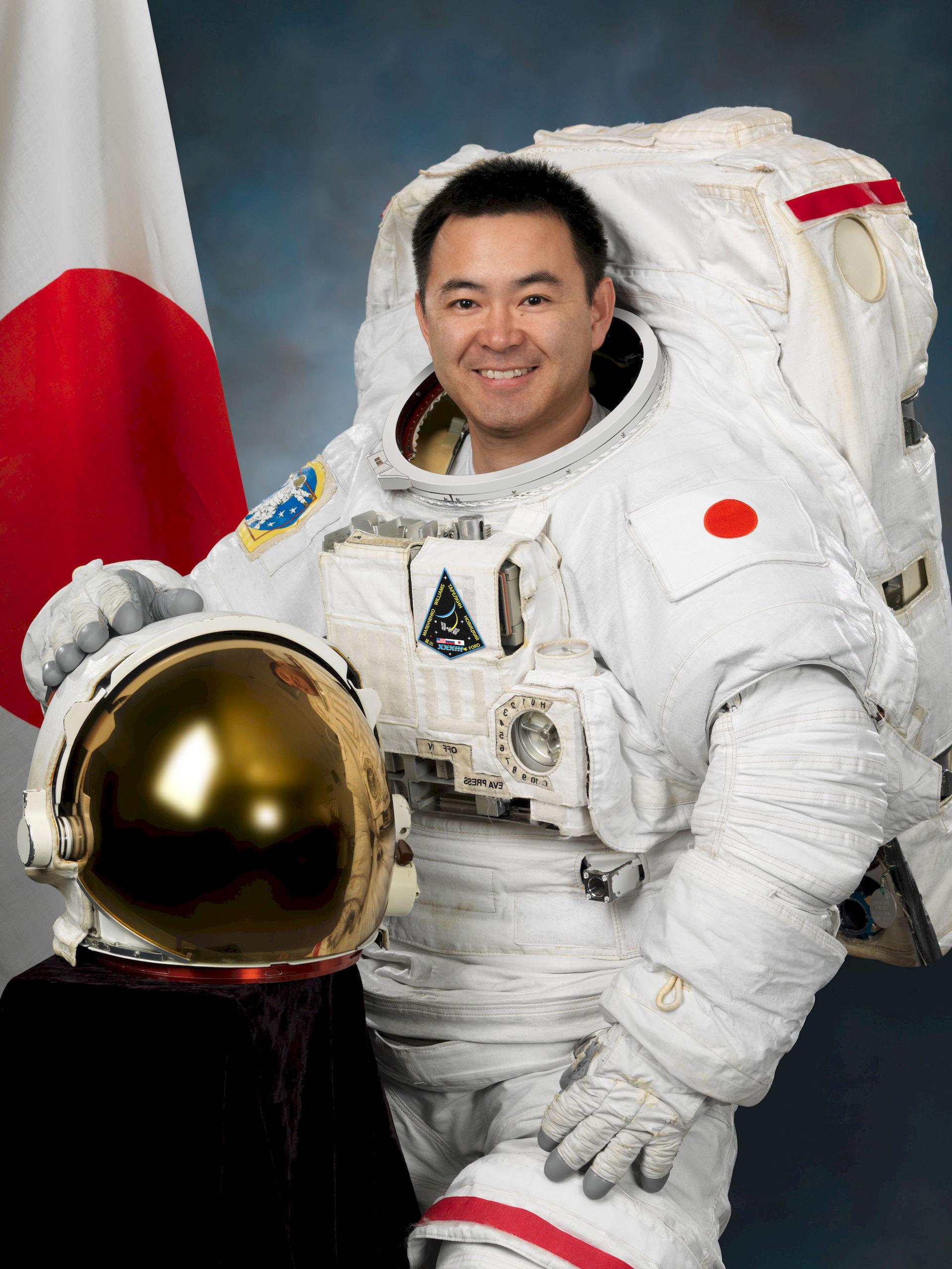 Photo of Akihiko Hoshide: Japanese astronaut