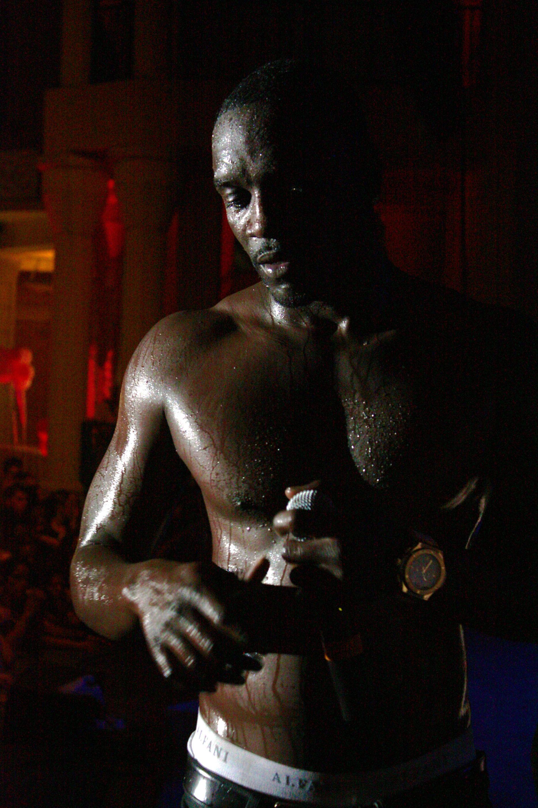 Photo of Akon: Senegalese American R&B and hip hop artist