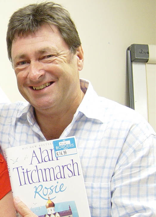 Photo of Alan Titchmarsh: British television show presenter