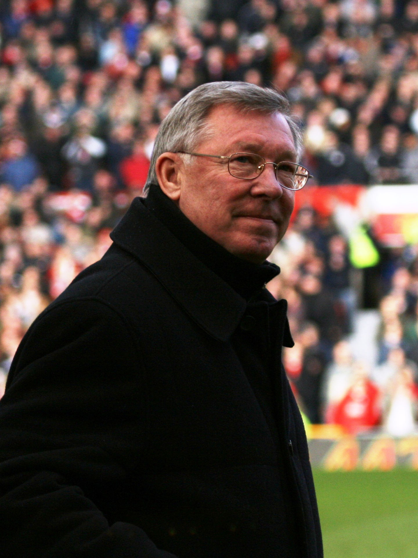 Photo of Alex Ferguson: Scottish footballer and manager