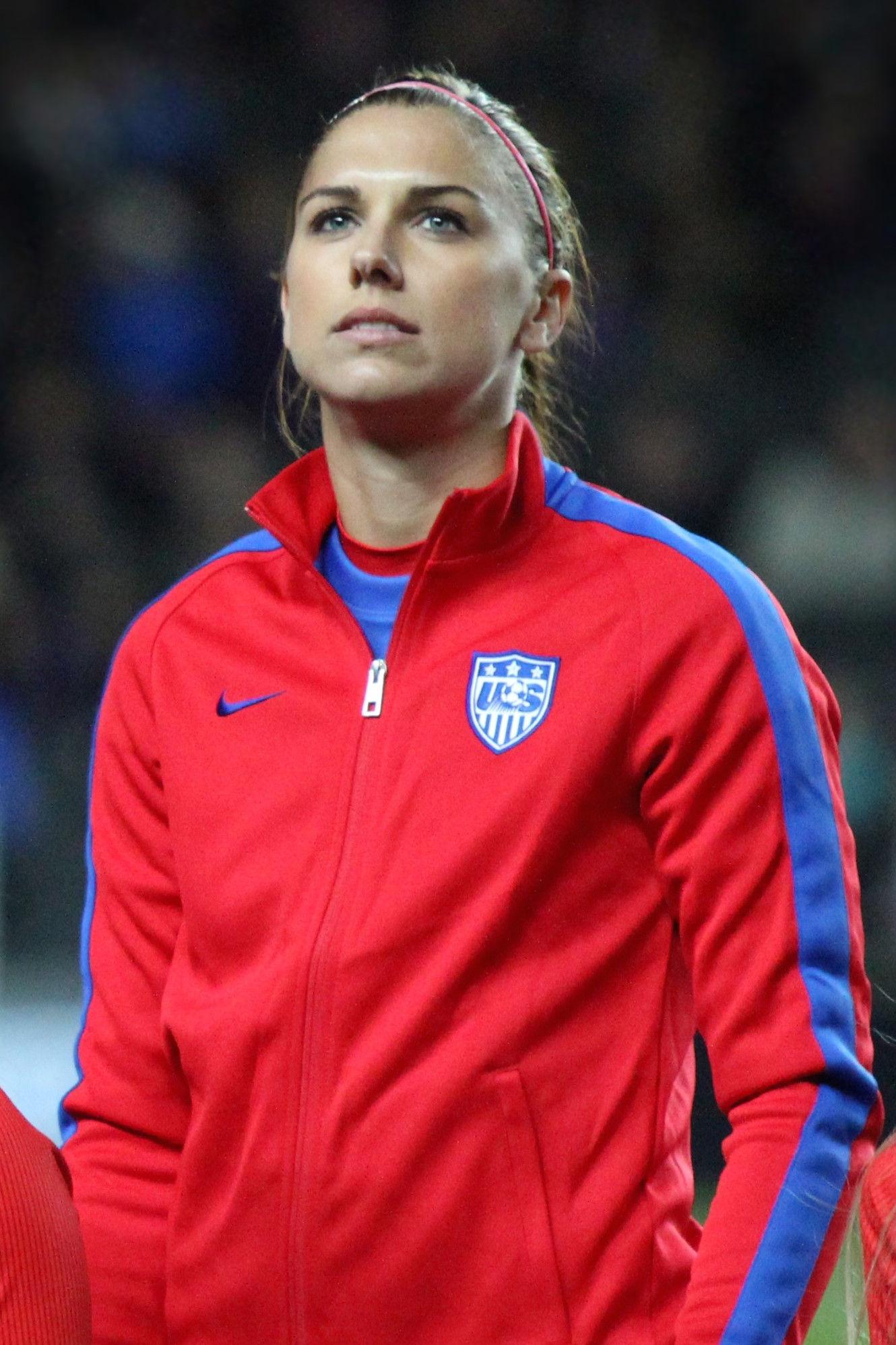 Photo of Alex Morgan: American soccer player