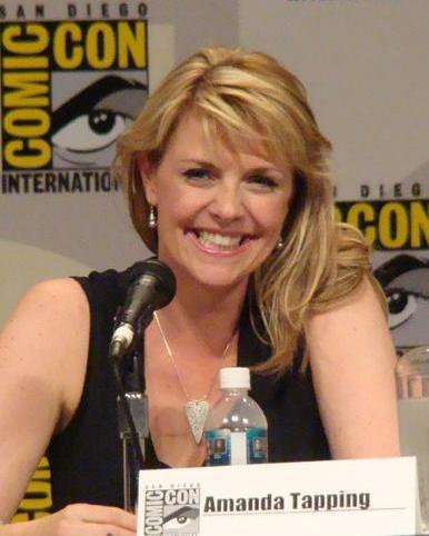 Photo of Amanda Tapping: English-born Canadian actress