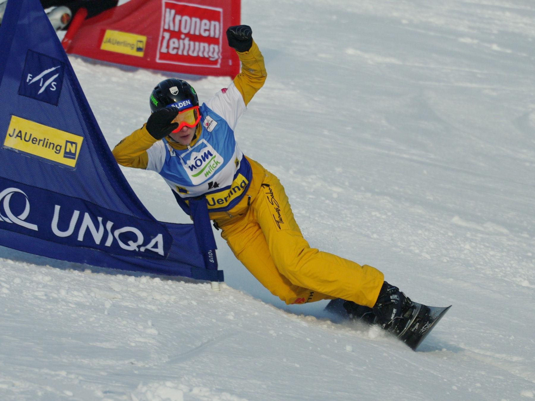 Photo of Amelie Kober: Snowboarder