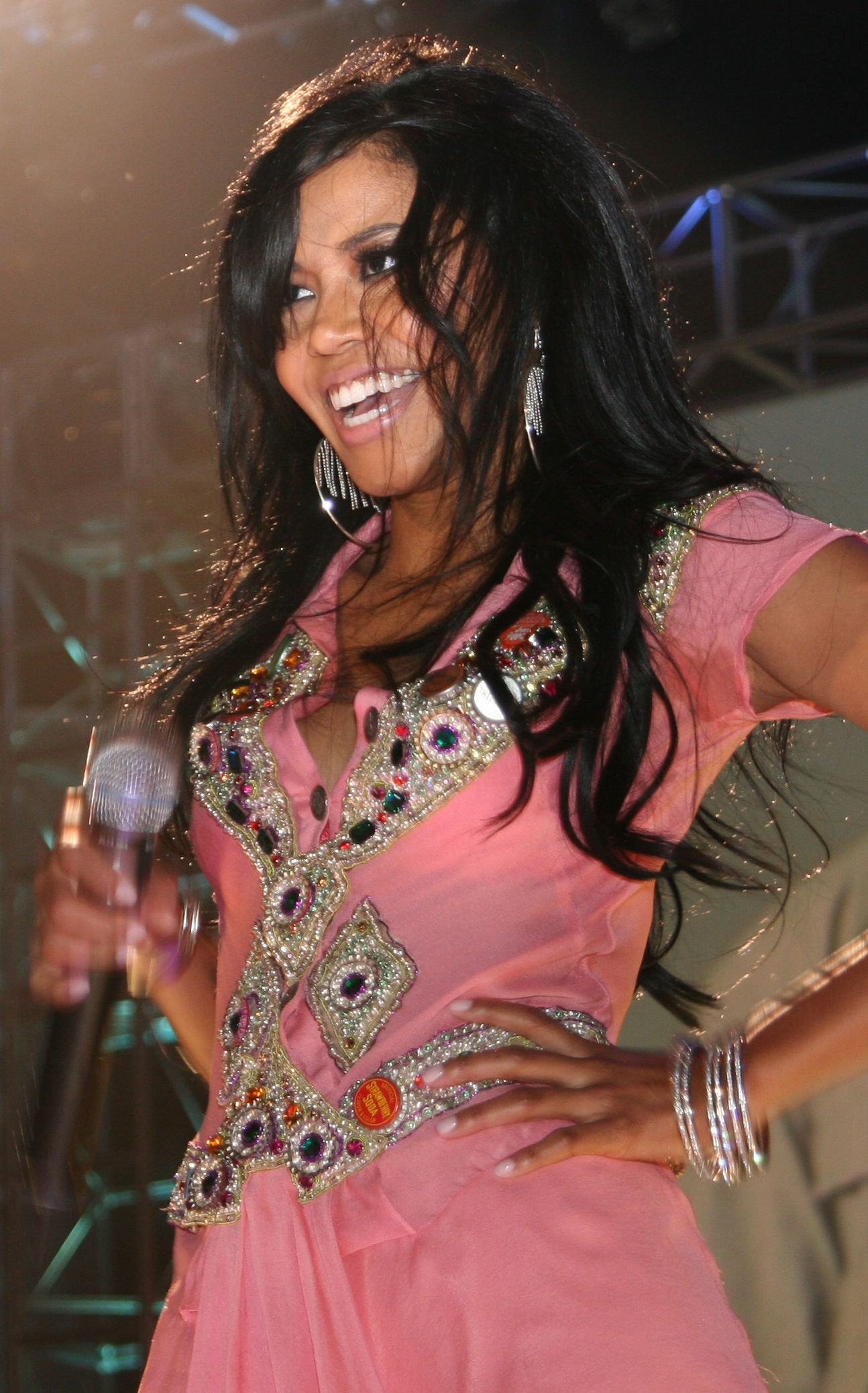 Photo of Amerie: American singer-songwriter, record producer, and actress