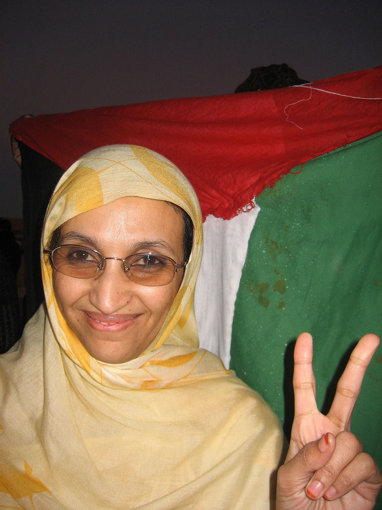 Photo of Aminatou Haidar: Sahrawi activist