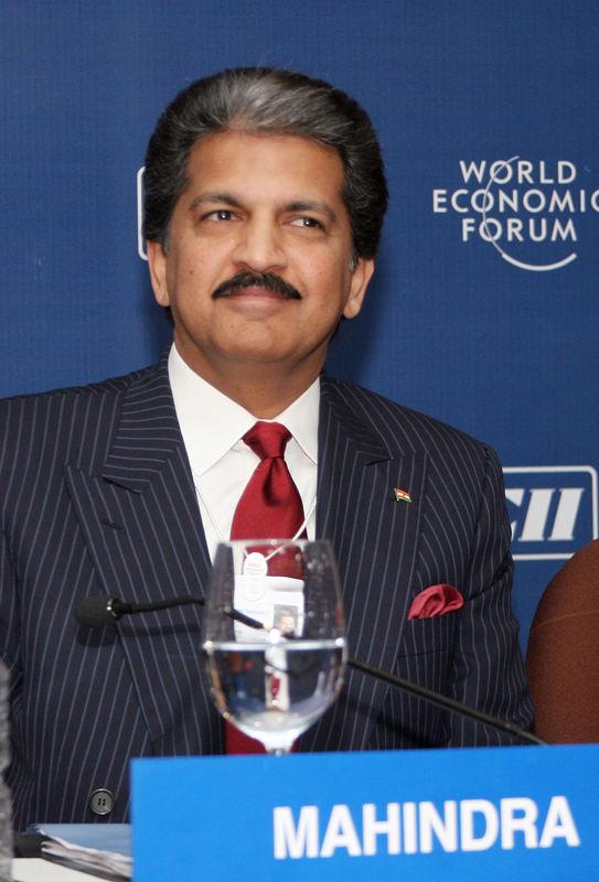 Photo of Anand Mahindra: Indian businessman, born 1955