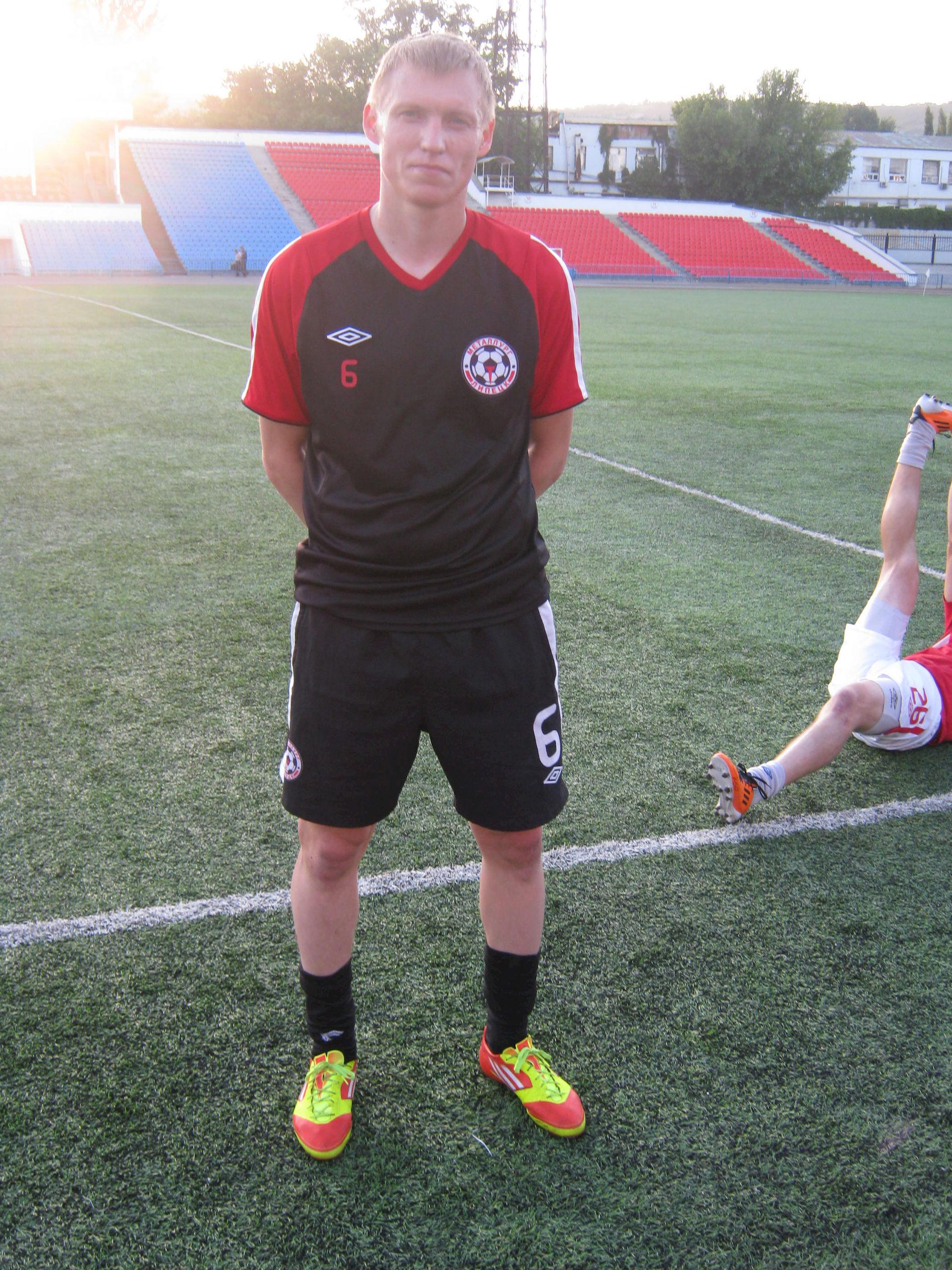 Photo of Andrei Zakharenko: Russian footballer