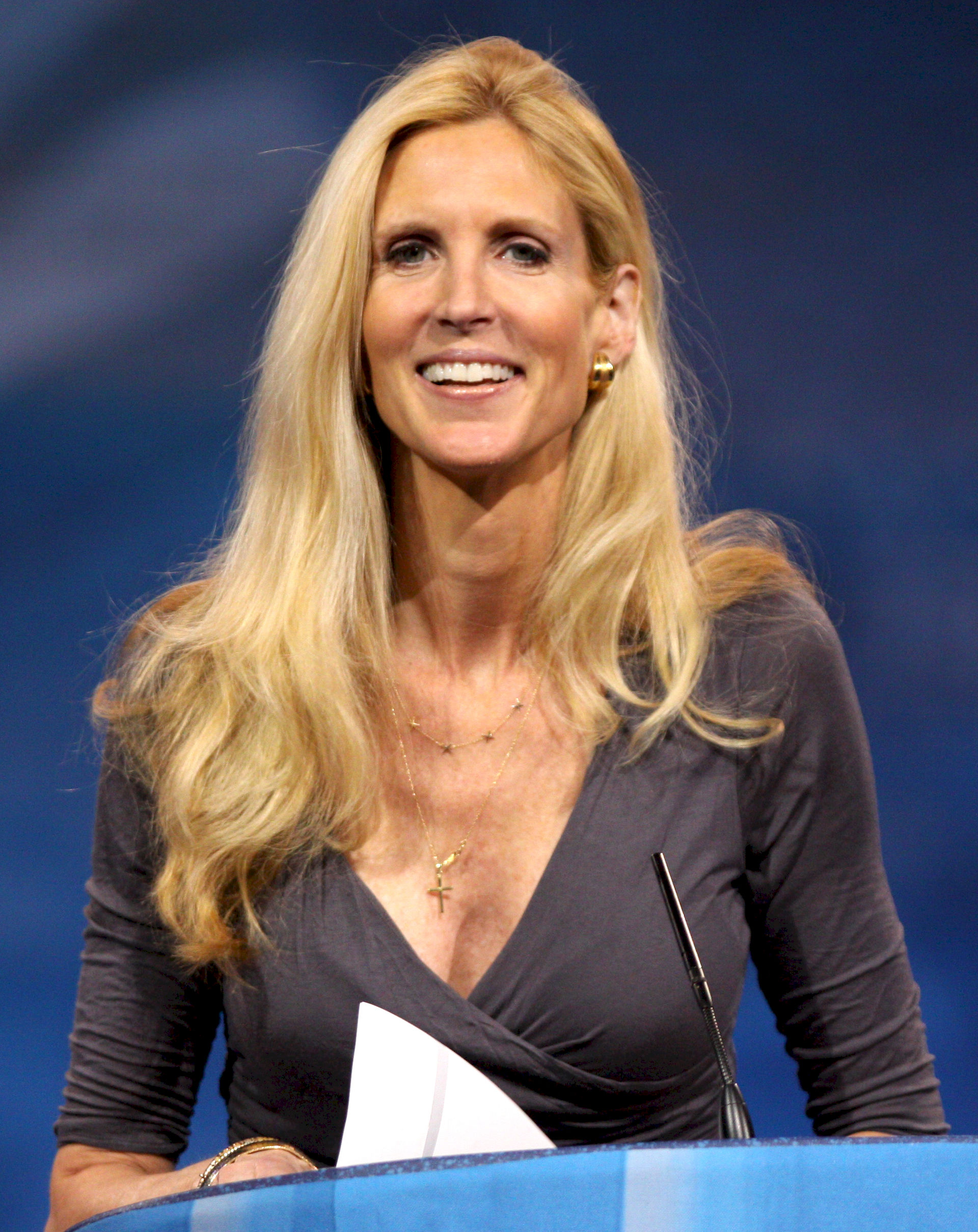 Photo of Ann Coulter: Author, political commentator