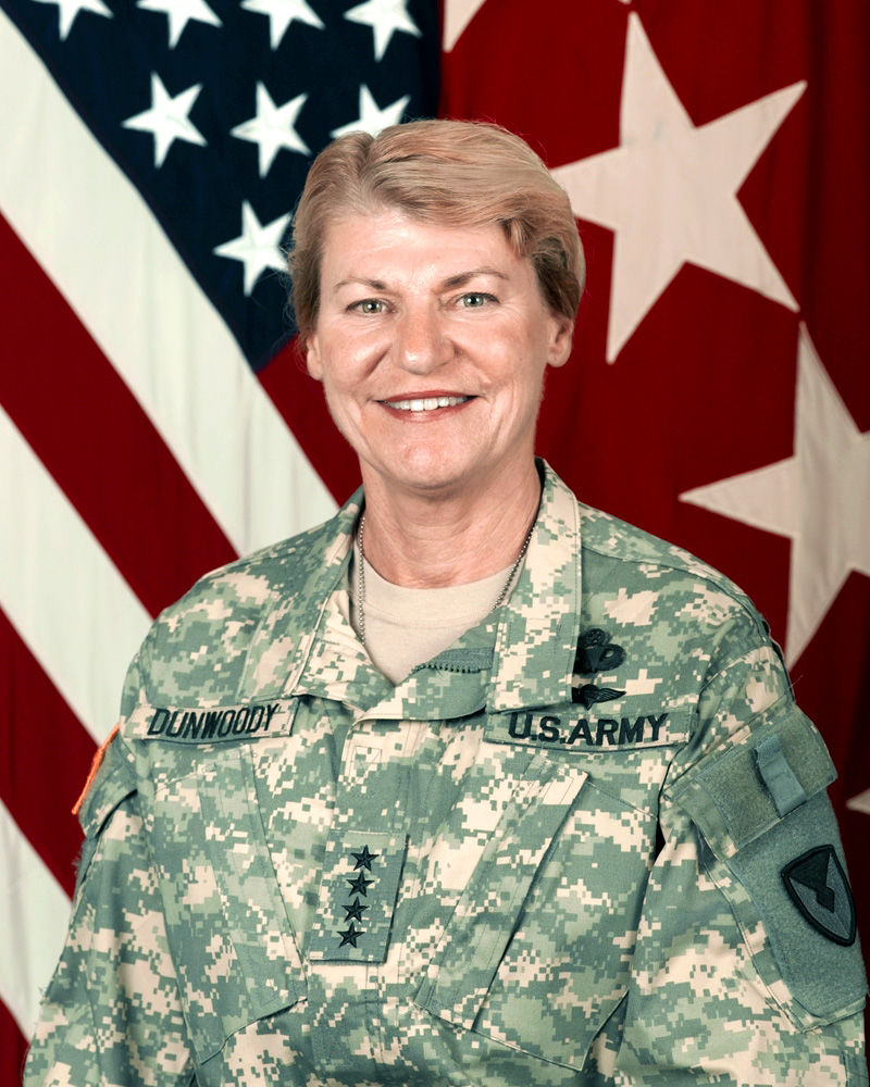 Photo of Ann E. Dunwoody: U.S. Army, first four-star general in U.S. military history