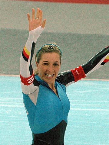 Photo of Anni Friesinger-Postma: Female German long track speed skater