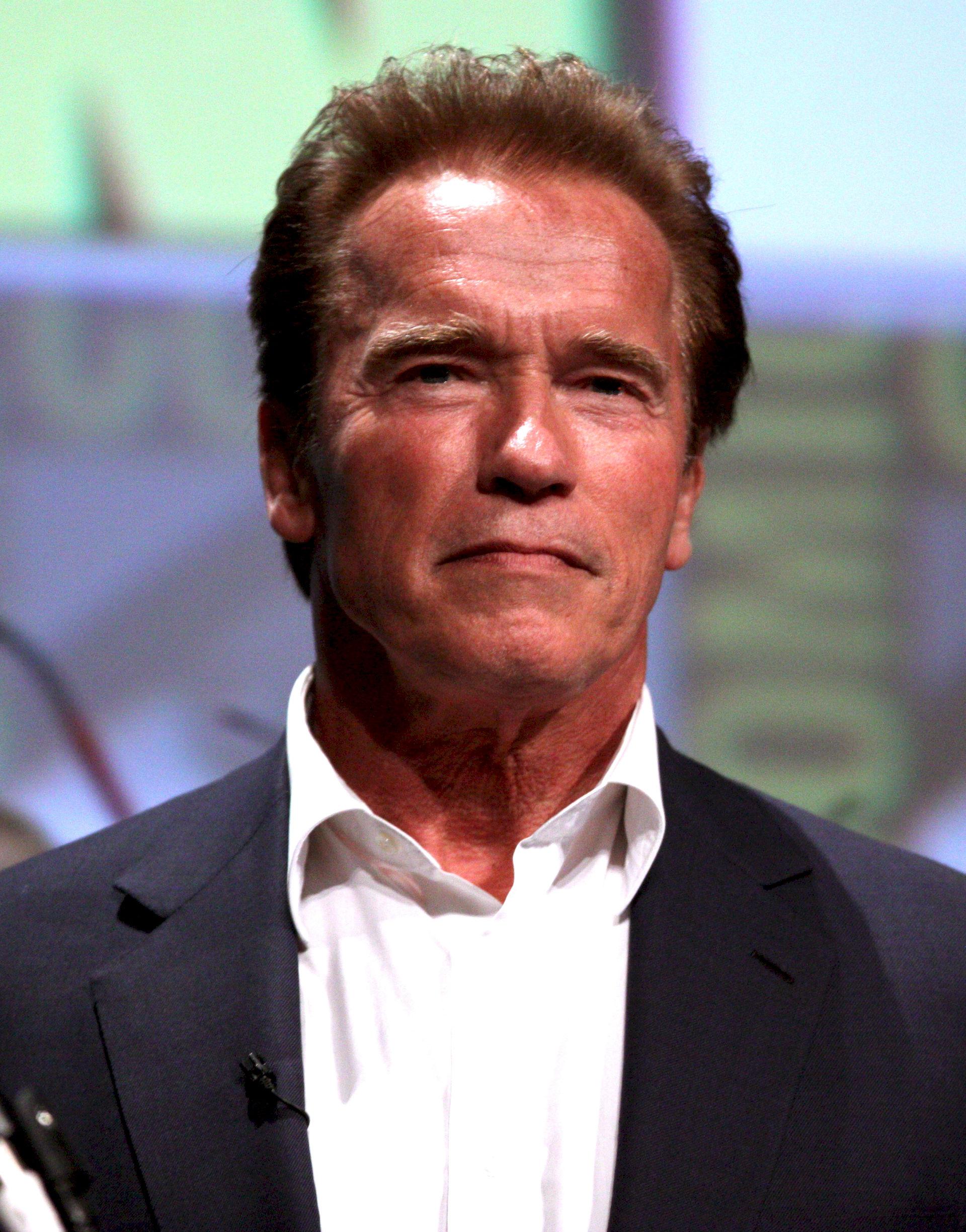 Photo of Arnold Schwarzenegger: Austrian American actor, businessman and politician