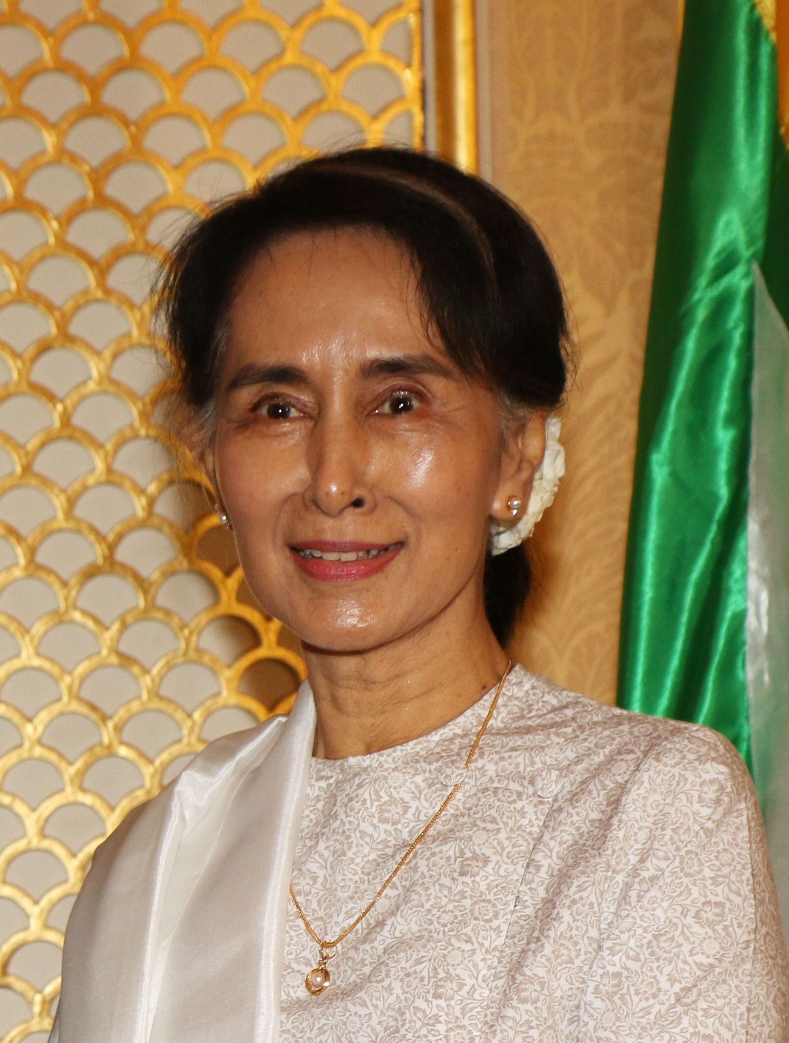 Photo of Aung San Suu Kyi: State Counsellor of Myanmar and Leader of the National League for Democracy