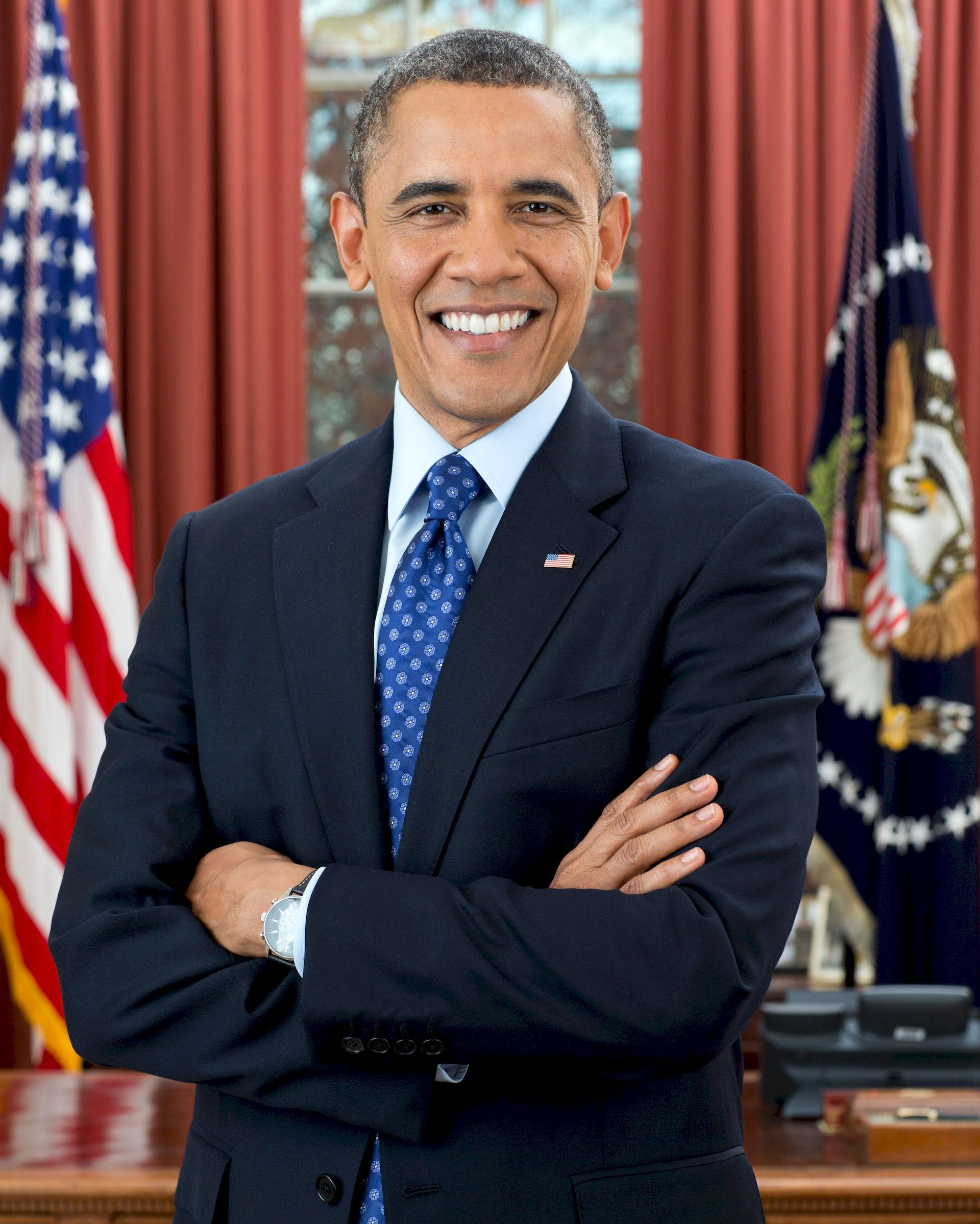 Photo of Barack Obama: 44th President of the United States