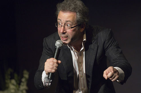 Photo of Ben Elton: English comedian, author, playwright, actor and director