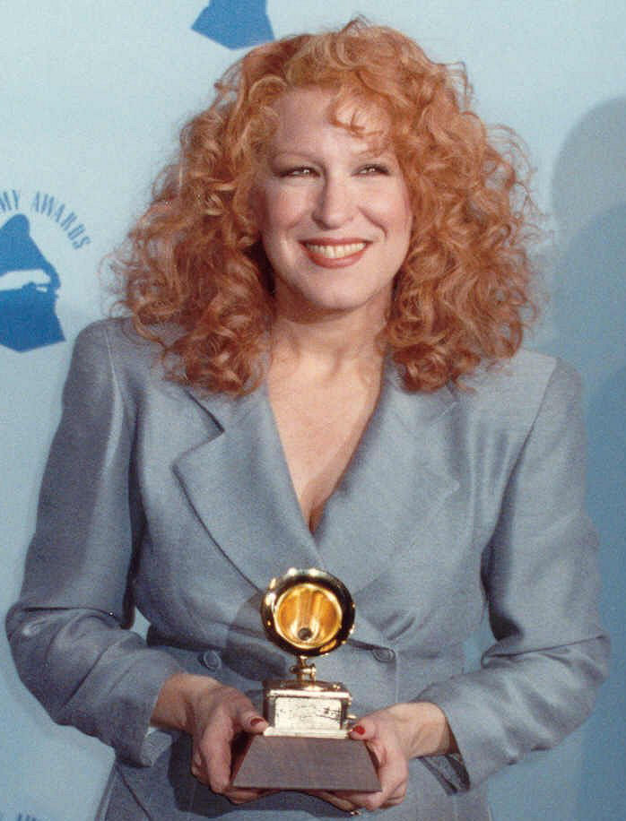 Photo of Bette Midler: American singer-songwriter, actress, comedian and film producer