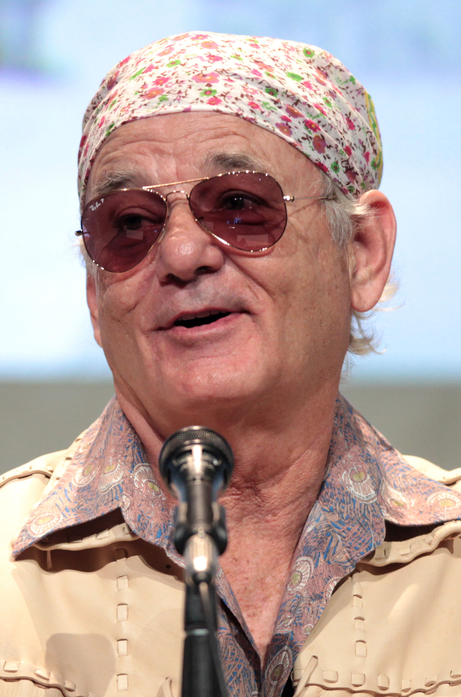 Photo of Bill Murray: American actor and comedian