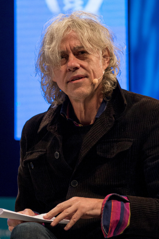 Photo of Bob Geldof: Irish singer-songwriter, author and political activist