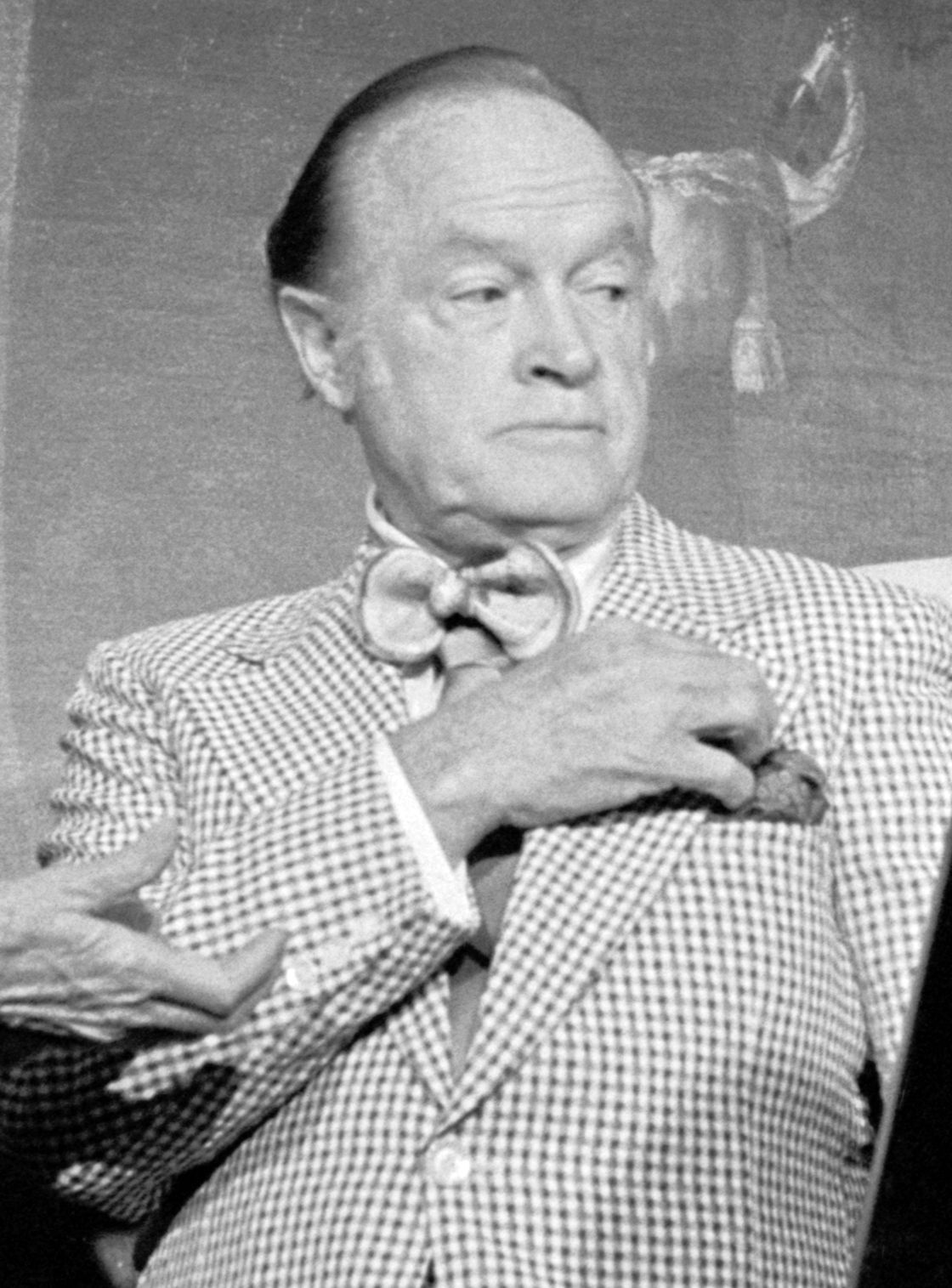 Photo of Bob Hope: American comedian, actor, singer and dancer