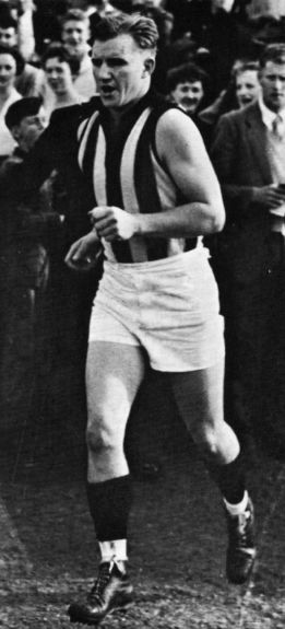 Photo of Bob Rose (footballer): Australian rules footballer and coach