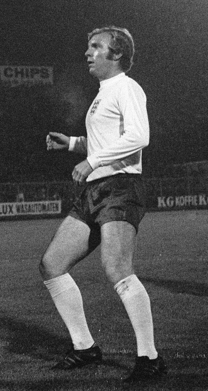 Photo of Bobby Moore: English footballer