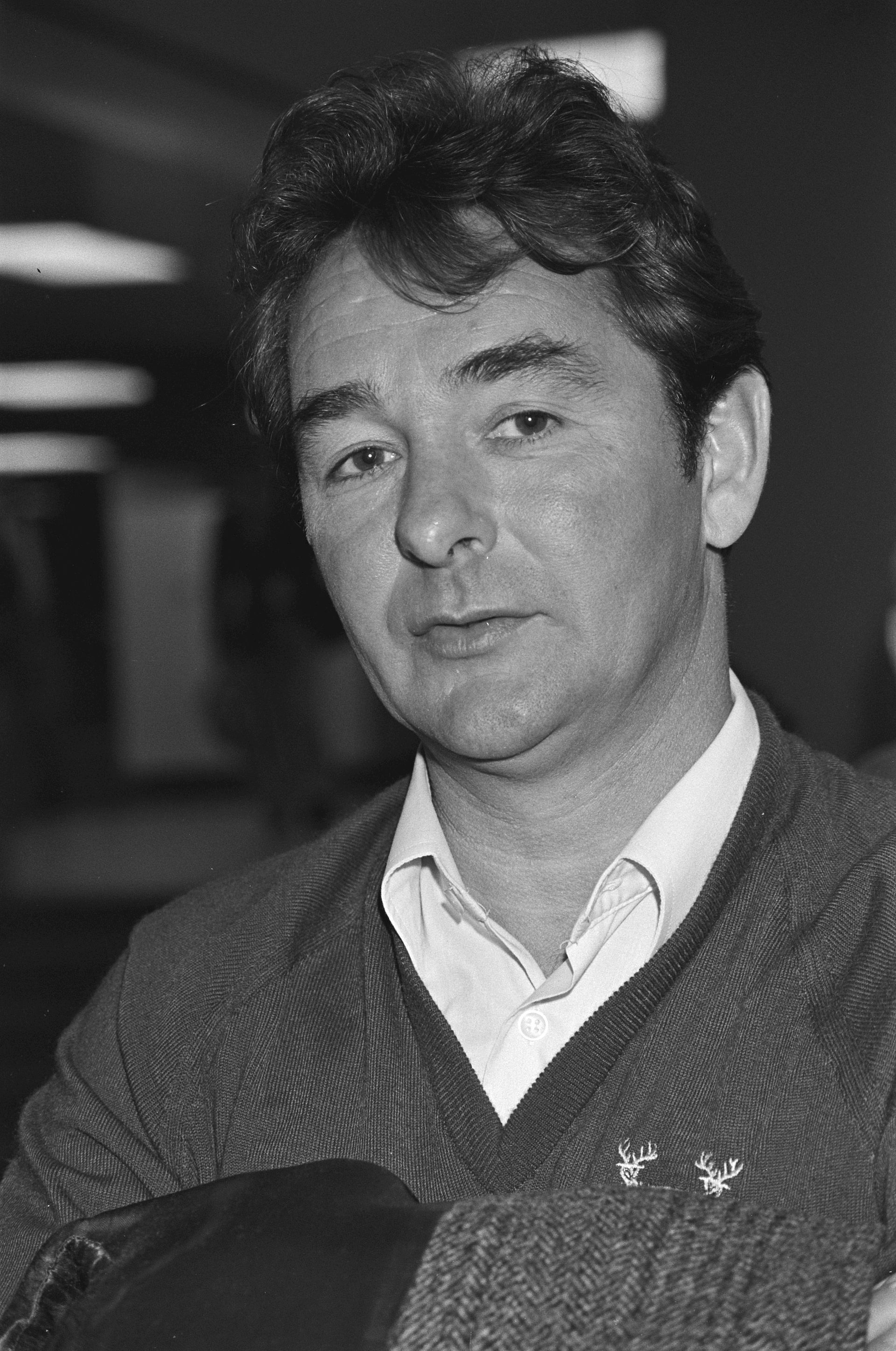 Photo of Brian Clough: English footballer and manager