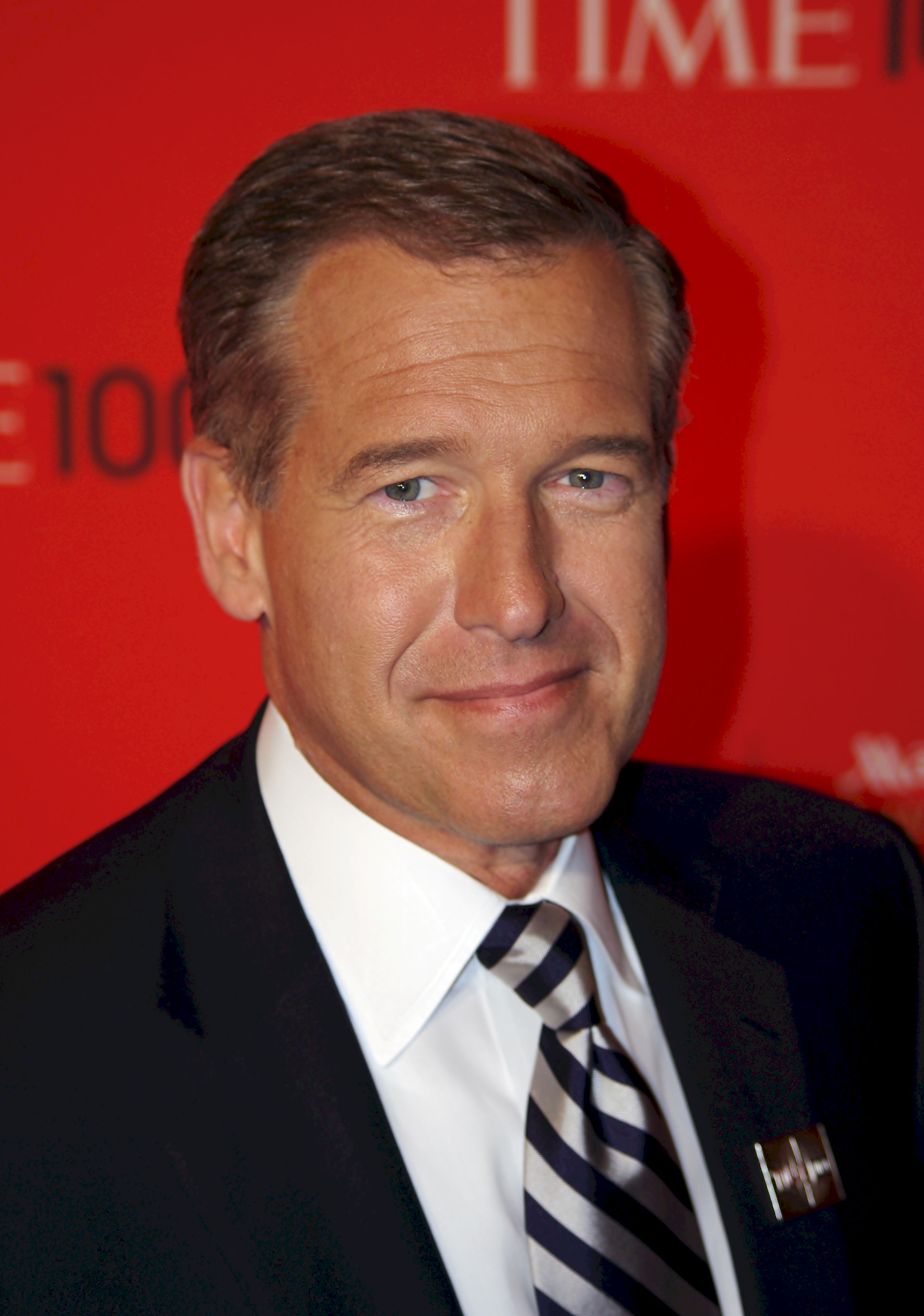 Photo of Brian Williams: American TV news anchor