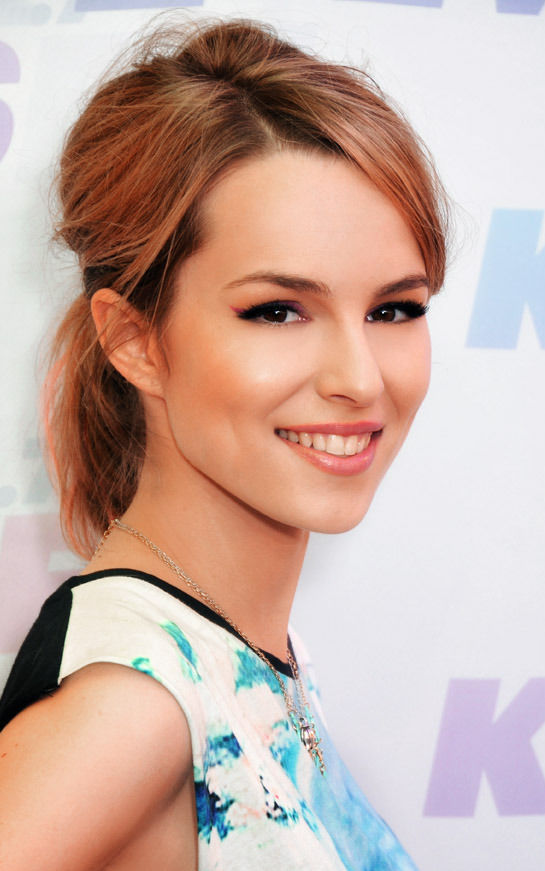 Photo of Bridgit Mendler: American singer, songwriter, actress, and record producer
