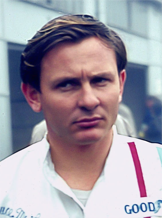 Photo of Bruce McLaren: New Zealander racecar driver, designer and team owner