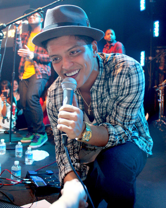 Photo of Bruno Mars: American singer-songwriter and record producer