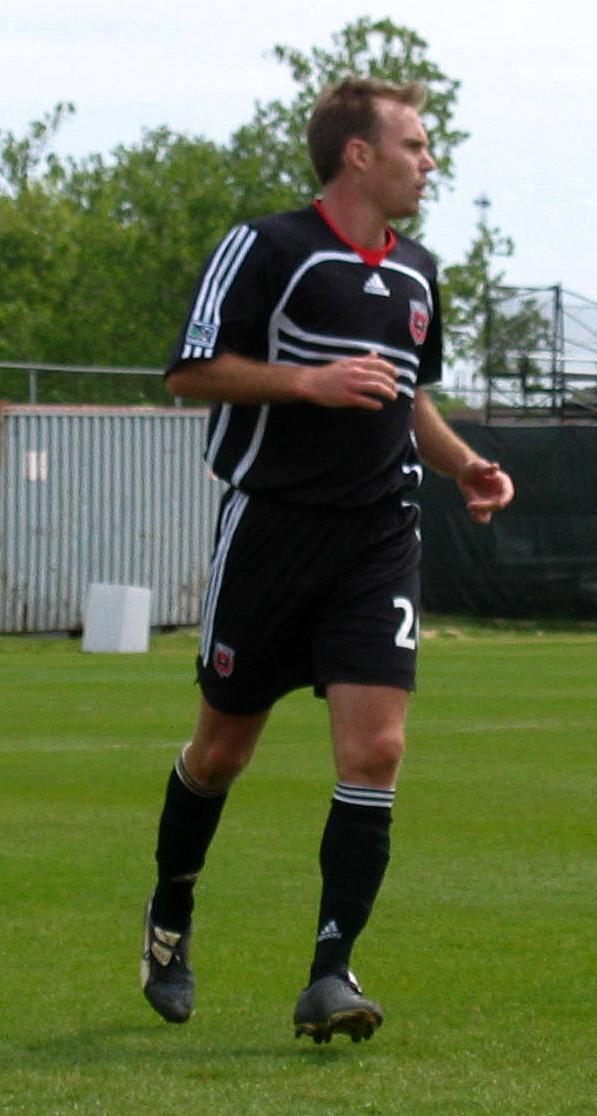 Photo of Bryan Namoff: American soccer player