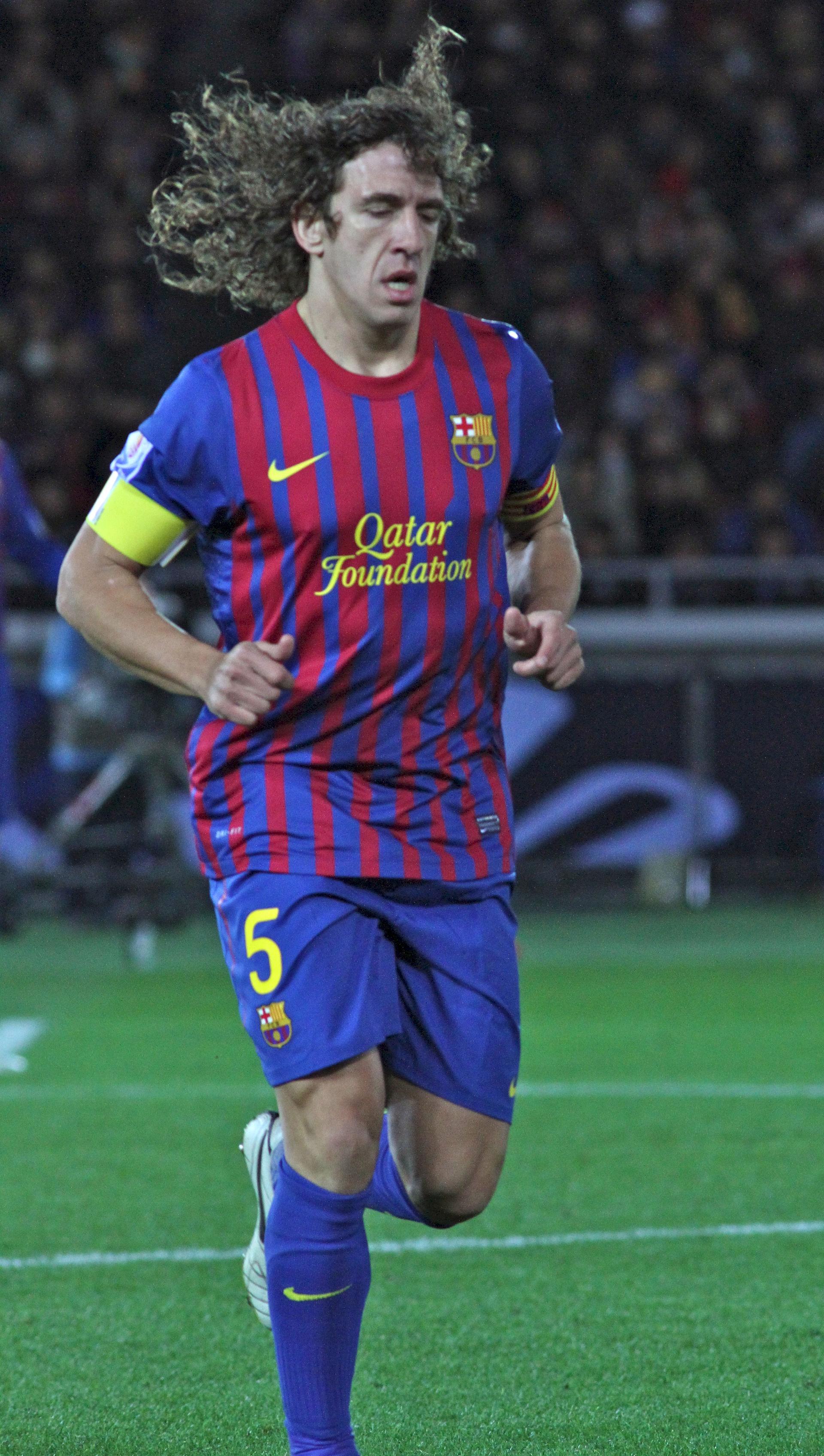Photo of Carles Puyol: Spanish footballer