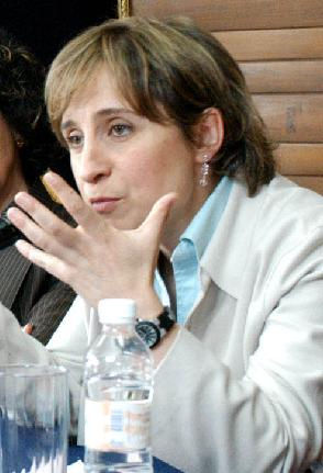 Photo of Carmen Aristegui: Mexican journalist