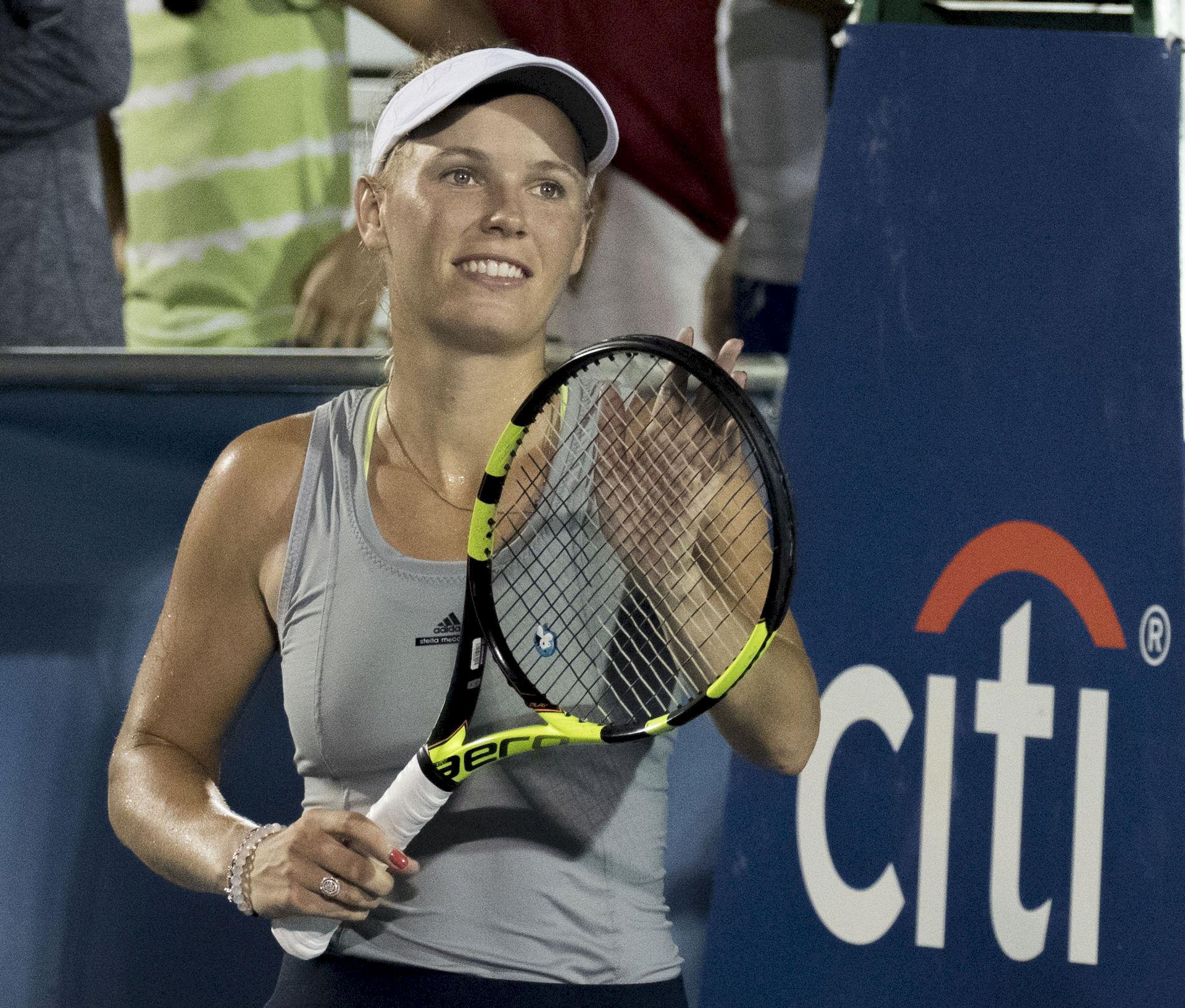 Photo of Caroline Wozniacki: Danish tennis player
