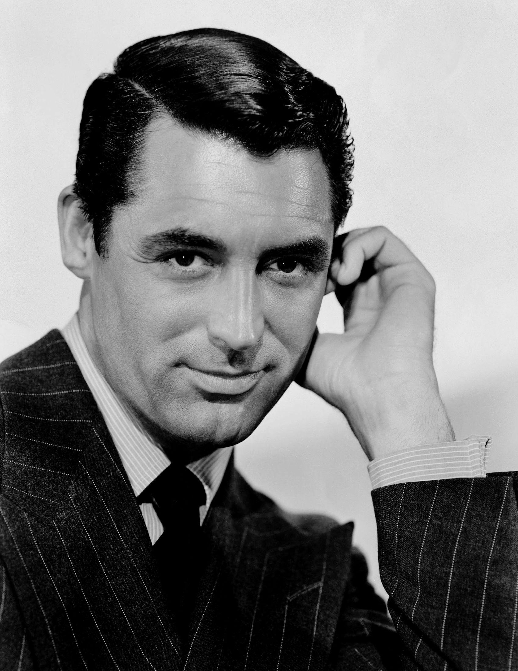 Photo of Cary Grant: English-born American film and stage actor