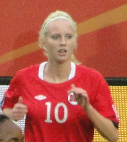 Photo of Cecilie Pedersen: Association football player