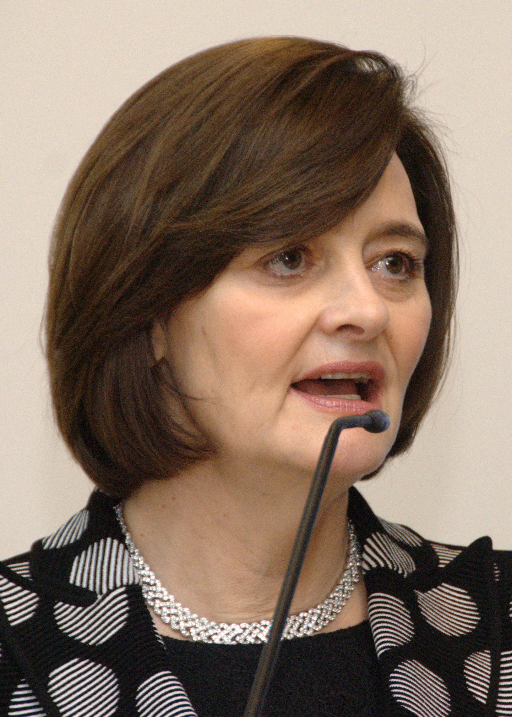 Photo of Cherie Blair: British barrister and wife of former British Prime Minister Tony Blair