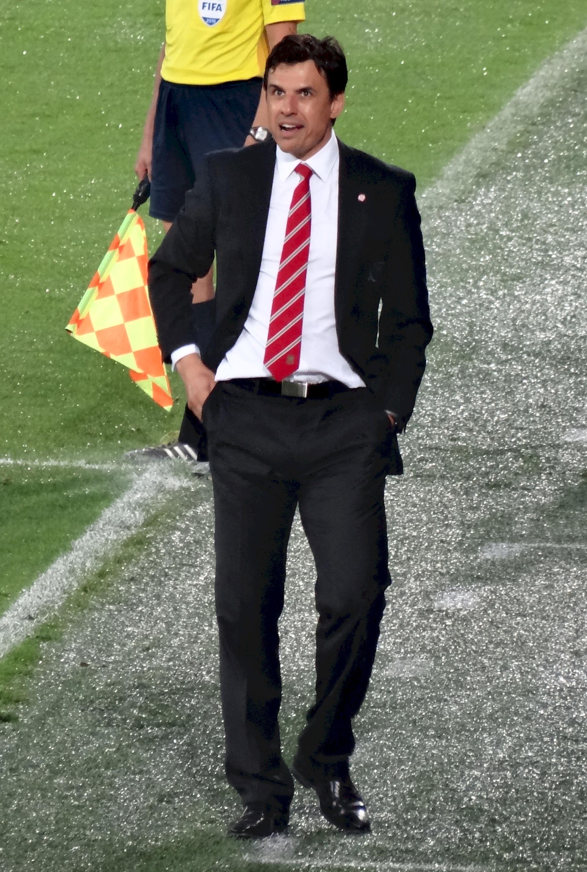 Photo of Chris Coleman (footballer): Footballer; Wales football manager