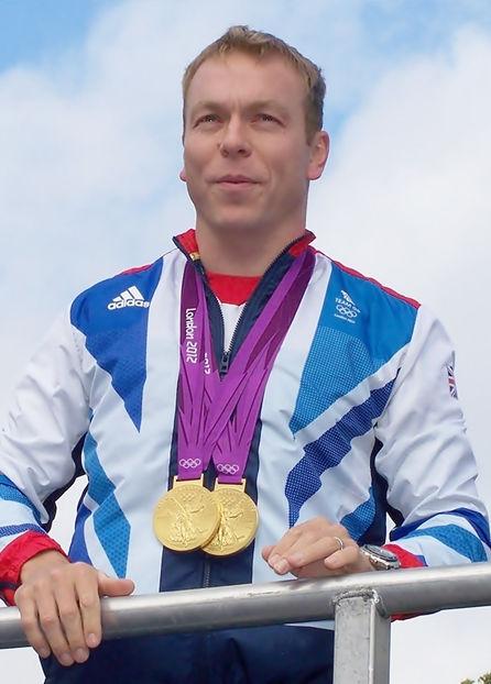 Photo of Chris Hoy: Scottish track cyclist