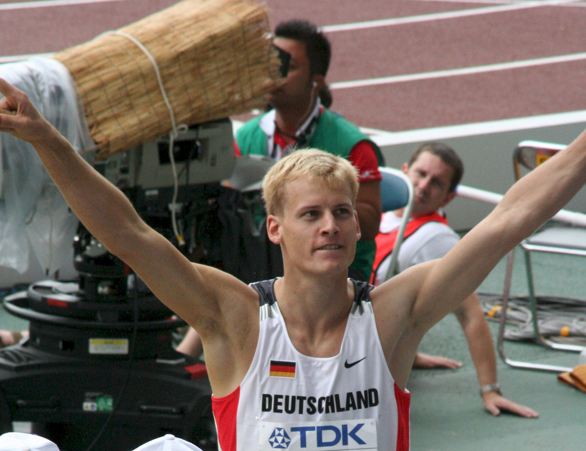 Photo of Christian Reif: German long jumper