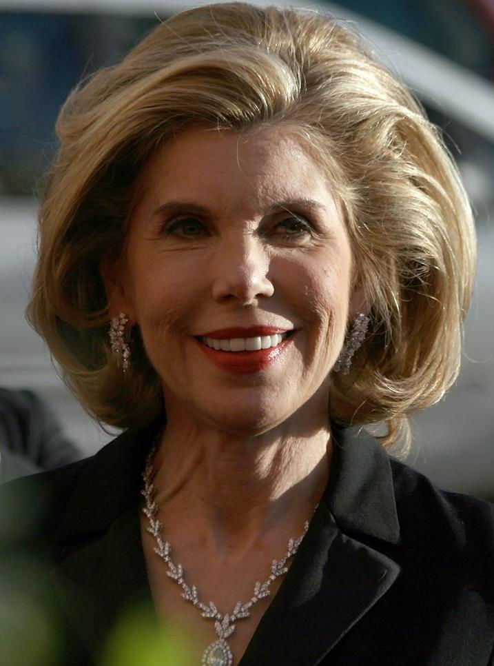 Photo of Christine Baranski: American stage and screen actress