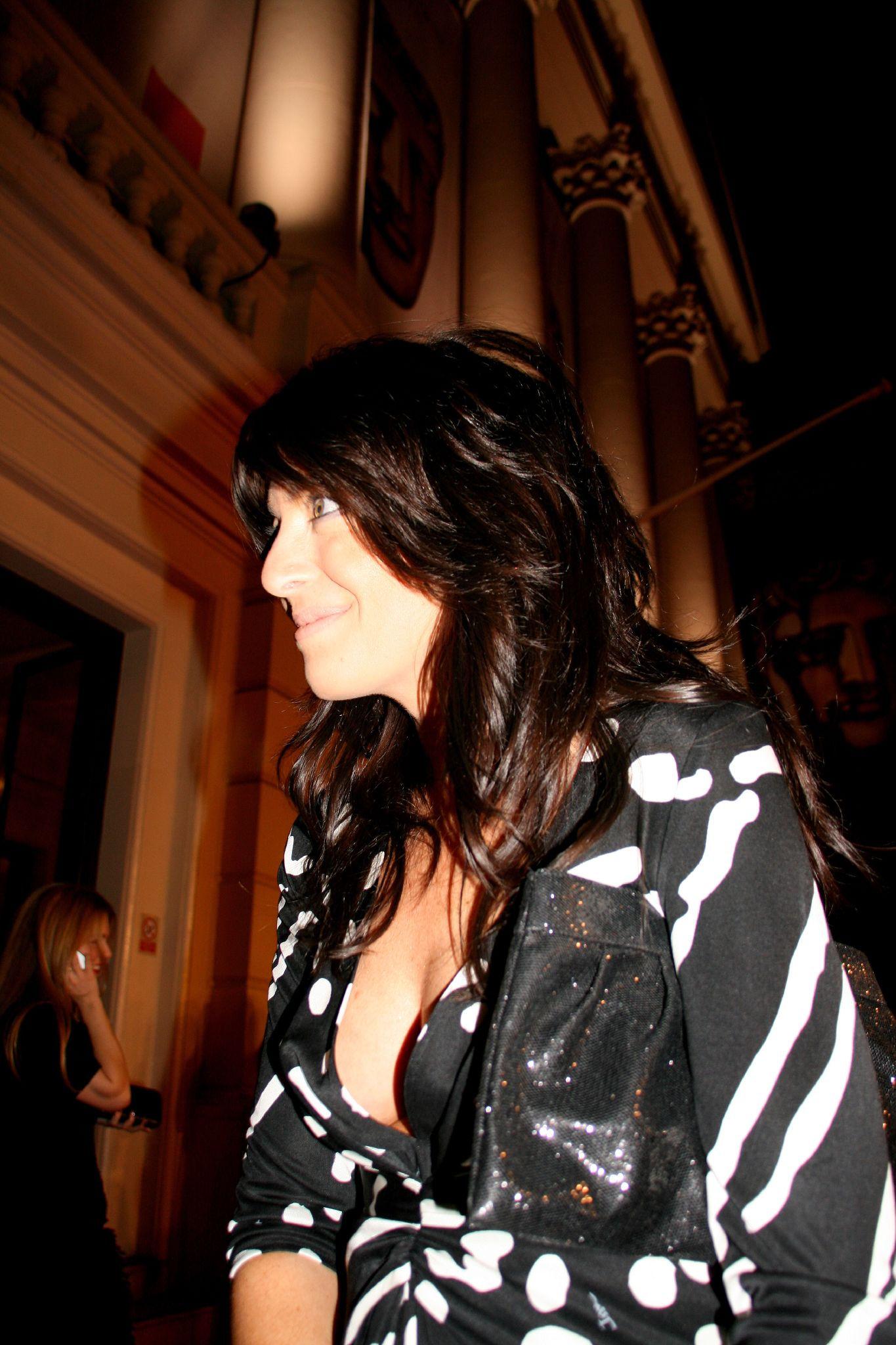 Photo of Claudia Winkleman: British television presenter