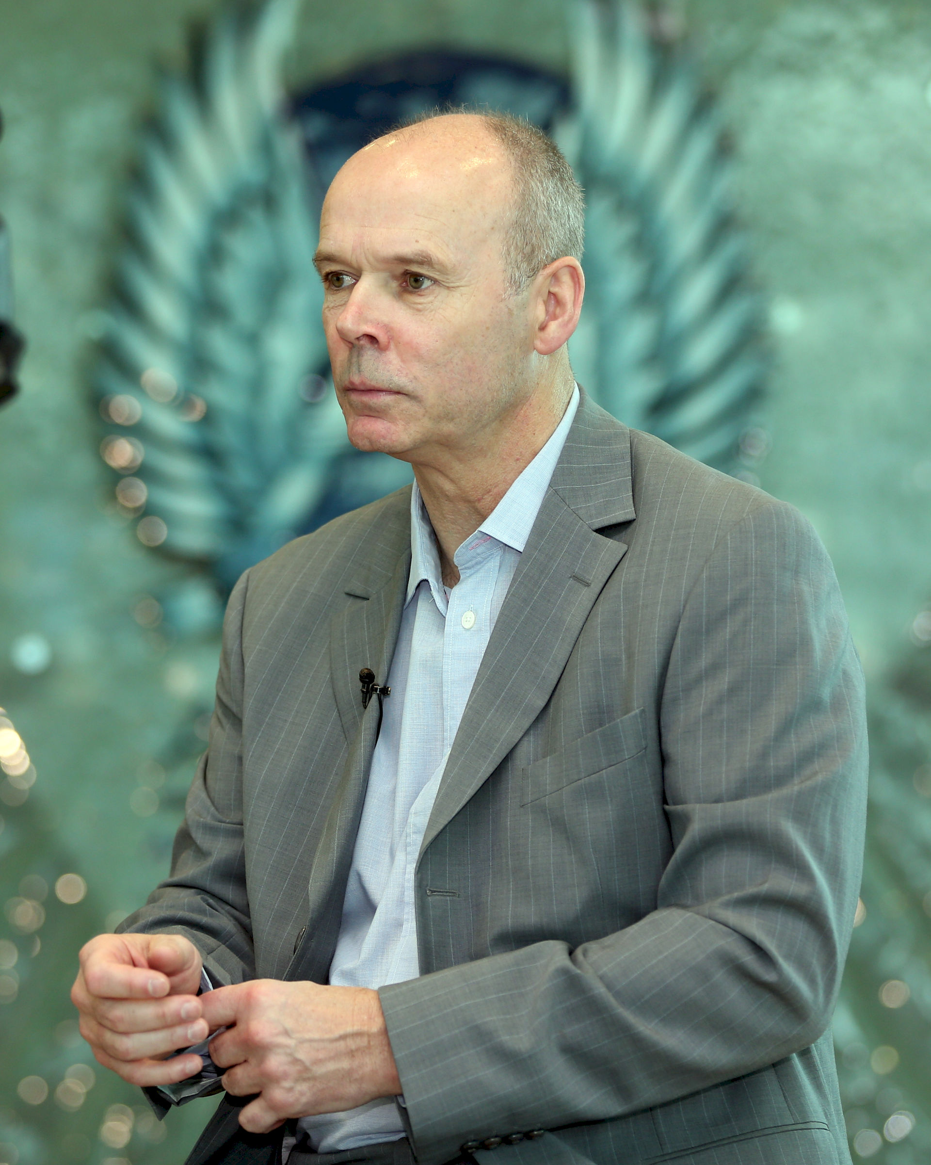 Photo of Clive Woodward: English rugby union coach