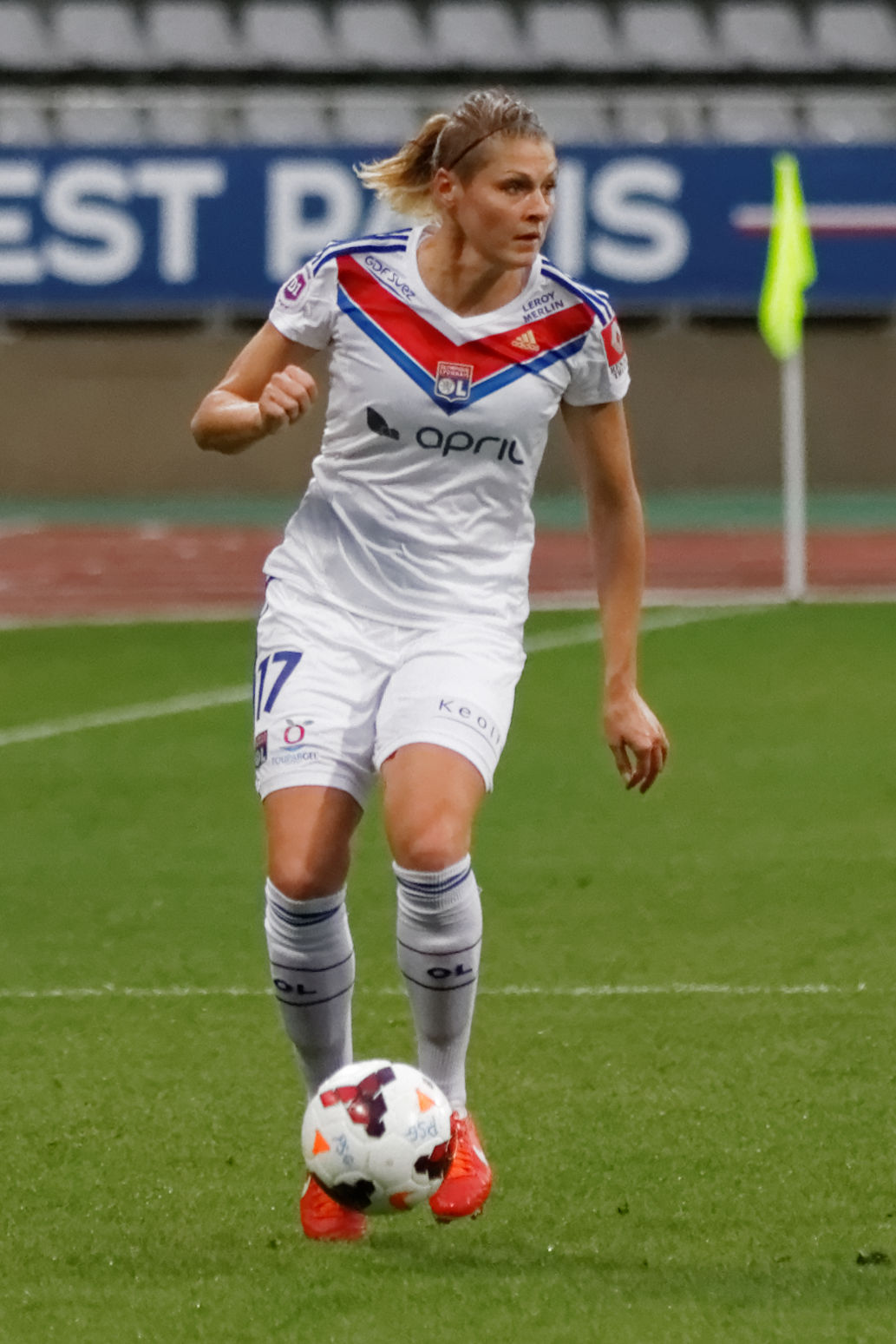 Photo of Corine Franco: Association football player