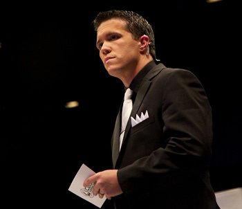 Photo of Cyrus Fees: Wrestling announcer