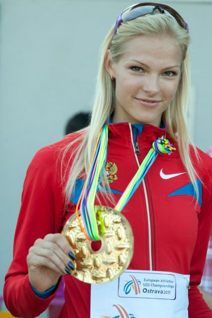 Photo of Darya Klishina: Russian long jumper