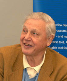 Photo of David Attenborough: British broadcaster and naturalist